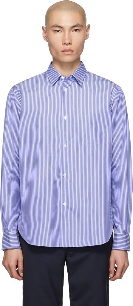 Comme des Garçons Homme Blue & White Stripe Shirt