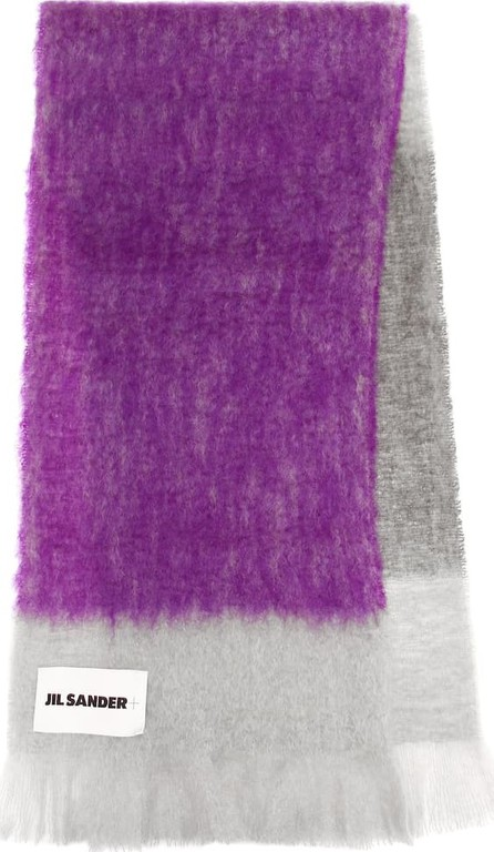 Jil Sander Mohair and wool scarf