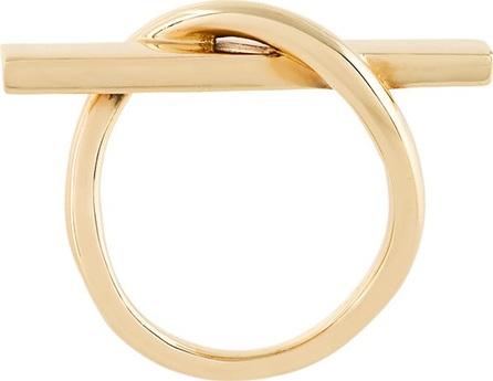 Eshvi crossed ring