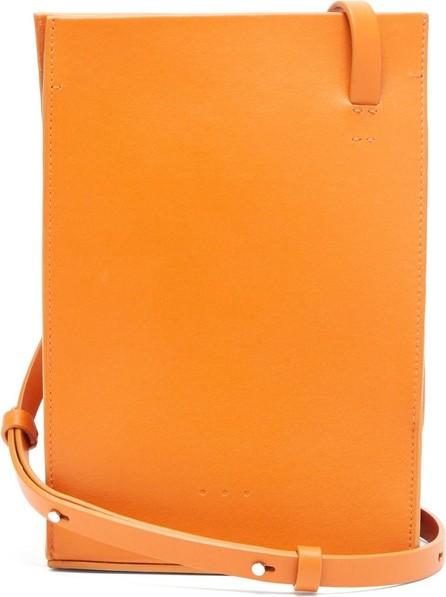 Aesther Ekme Twisted leather shoulder bag