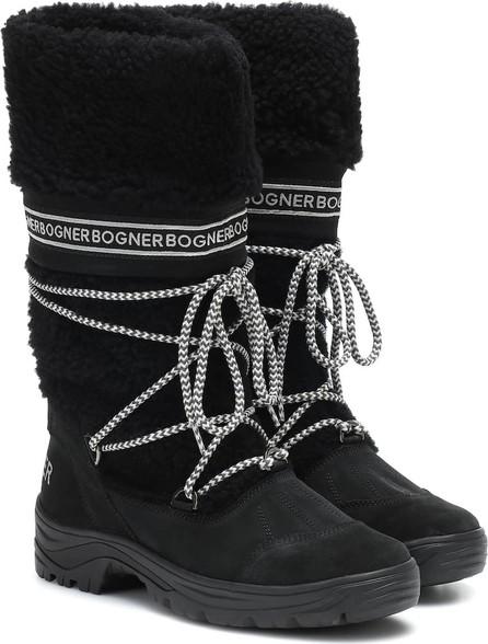 Bogner Alta Badia shearling snow boots