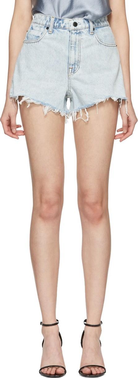 Alexander Wang Blue Bite Shorts