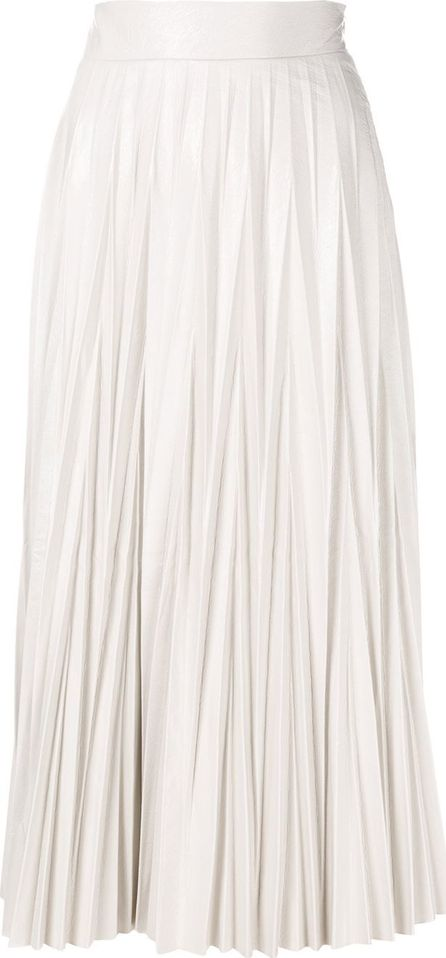 Aviu pleated high-waisted skirt