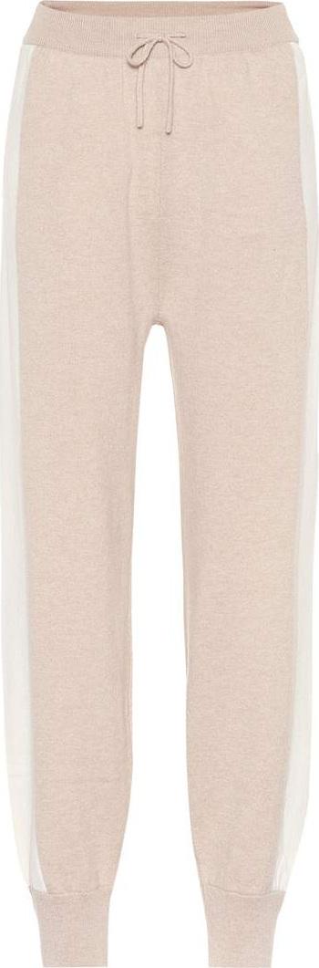 Agnona Cashmere trackpants