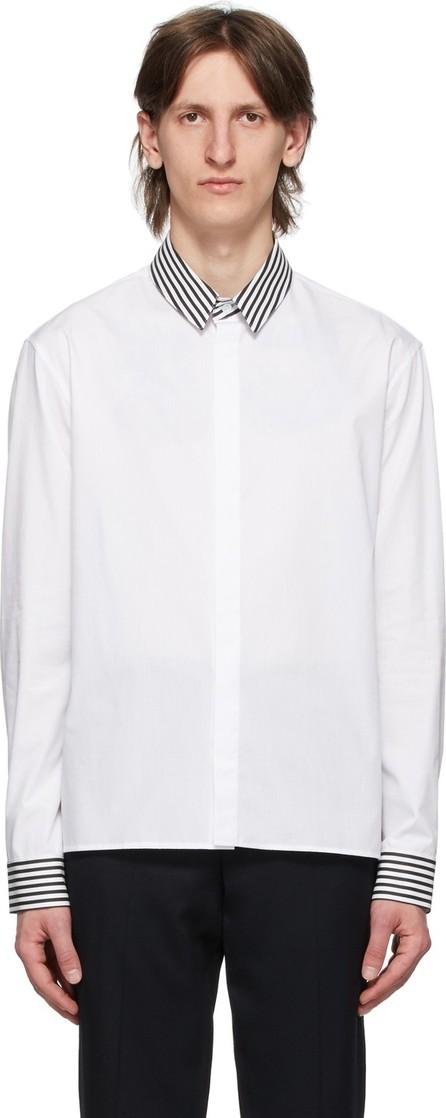 Haider Ackermann White Stripe Classic Shirt