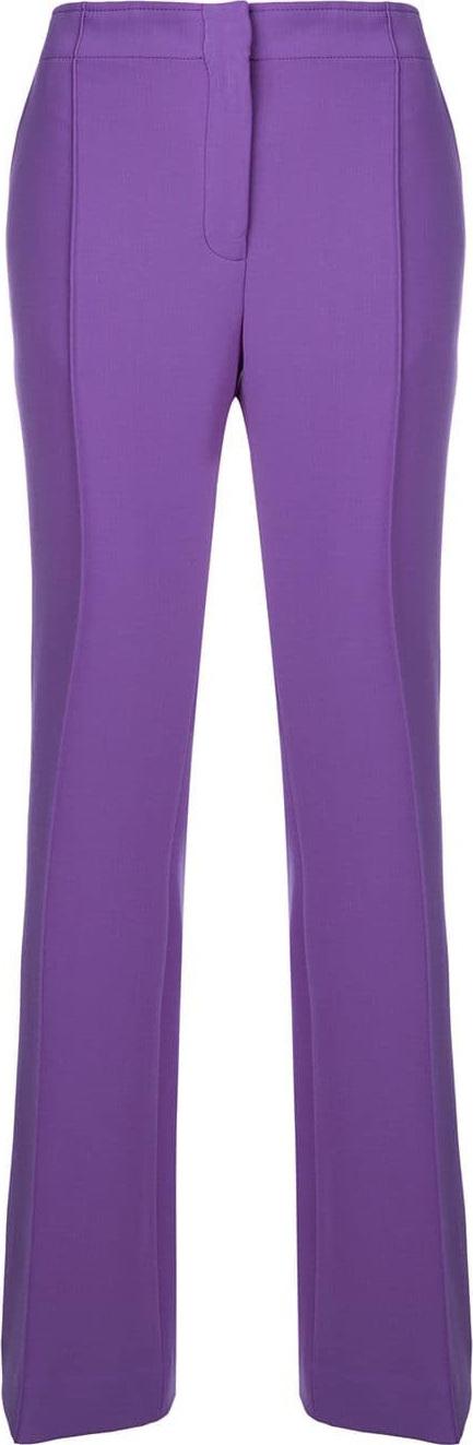 VICTORIA, VICTORIA BECKHAM High-waist flared trousers
