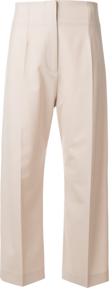 Jacquemus High waisted creased trousers