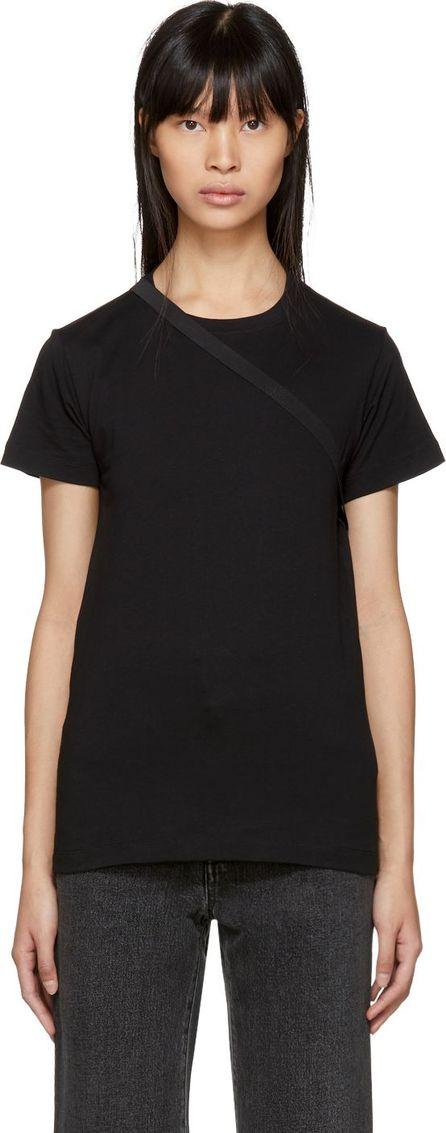 Helmut Lang Black Deconstructed T-Shirt