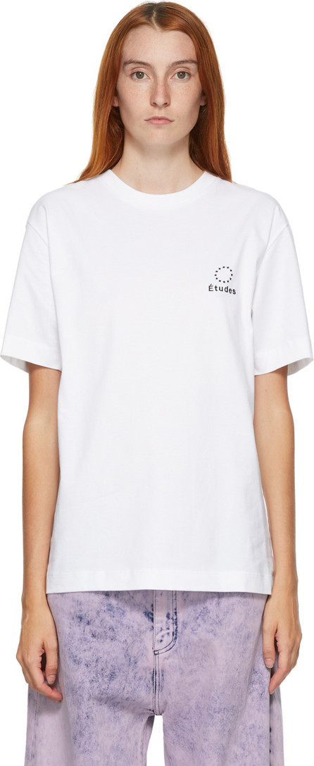 Etudes White Wonder Logo T-Shirt