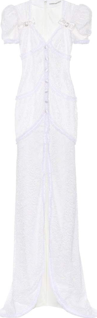 Alessandra Rich Lace gown