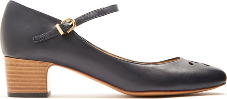 A.P.C. Rania Mary-Jane leather pumps