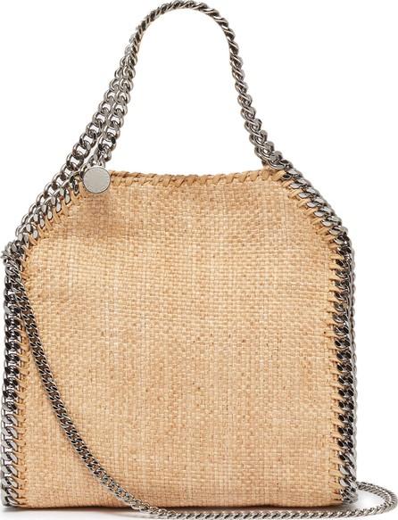 Stella McCartney 'Falabella' mini raffia tote bag