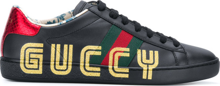 Gucci Guccy logo sneakers
