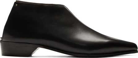 Alumnae Black Mule Boots
