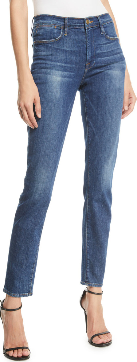 FRAME DENIM Le High Skinny Stretch Ankle Jeans