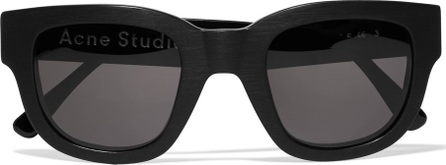 Acne Studios D-frame matte-acetate sunglasses