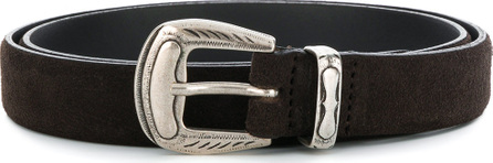 Eleventy Embossed buckle belt