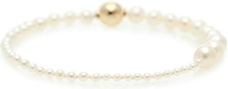 Sophie Bille Brahe Petite Peggy 14kt gold and pearl bracelet