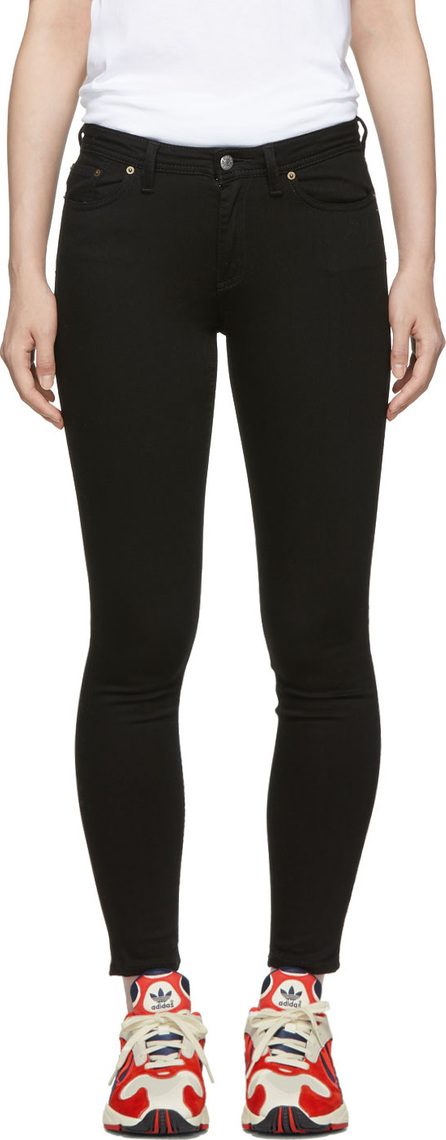 Acne Studios Blå Konst Black Climb Jeans