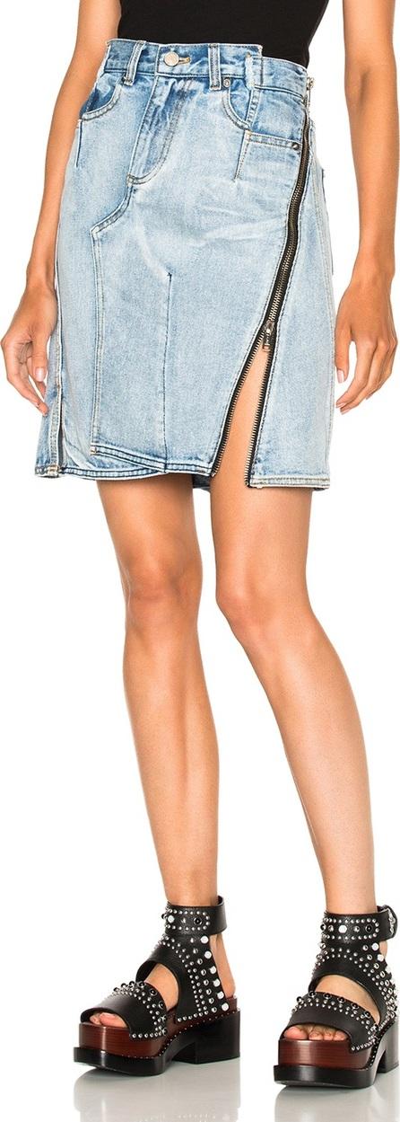 3.1 Phillip Lim Asymmetrical Skirt with Zipper