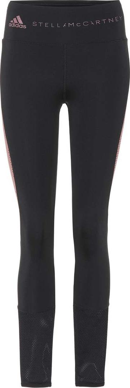 Adidas By Stella McCartney Train mesh-panelled leggings