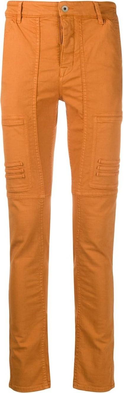 Rick Owens DRKSHDW Panelled skinny trousers