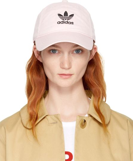 Adidas Originals Pink Relaxed Strapback Cap