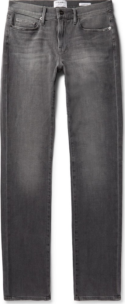 FRAME DENIM L'Homme Slim-Fit Stretch-Denim Jeans