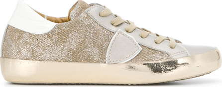Philippe Model Paris laminated sneakers