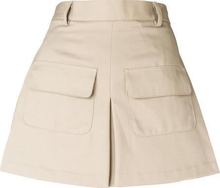 Matthew Adams Dolan Draped mini skirt