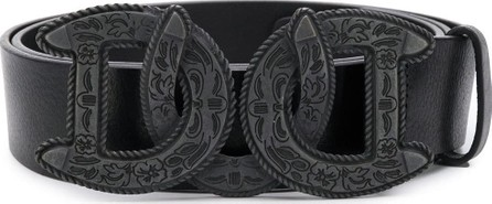 DSQUARED2 Western DD buckle belt