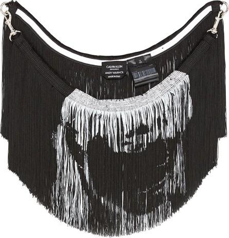 Calvin Klein 205W39NYC 'Stephen Sprouse' print fringe scarf