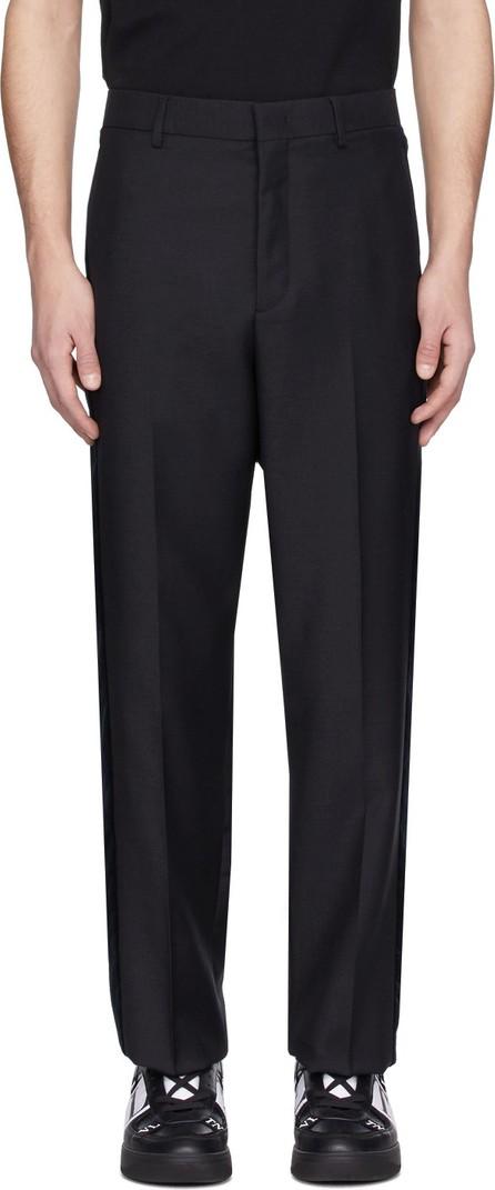 Valentino Navy Wool Formal Pants