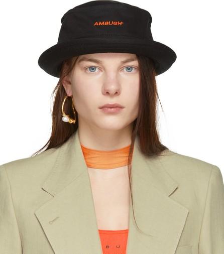 Ambush Black Waves Bucket Hat