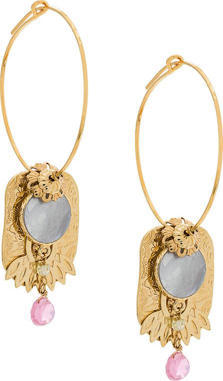 GAS Bijoux Eldorado hoop earrings