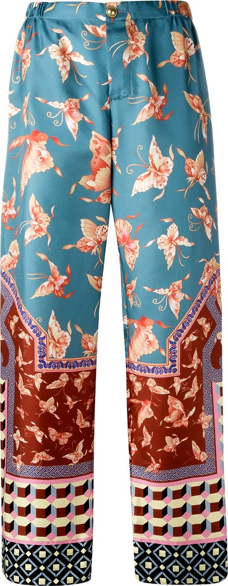 F.R.S For Restless Sleepers multiple patterns straight trousers