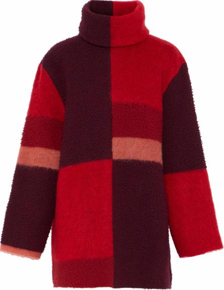 Roksanda Color-block wool-blend turtleneck sweater