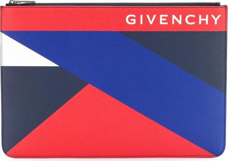 Givenchy Geometric print pouch