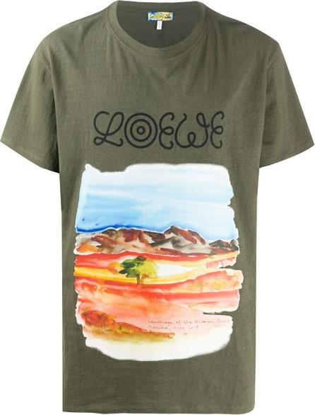 LOEWE Watercolour-printed T-shirt