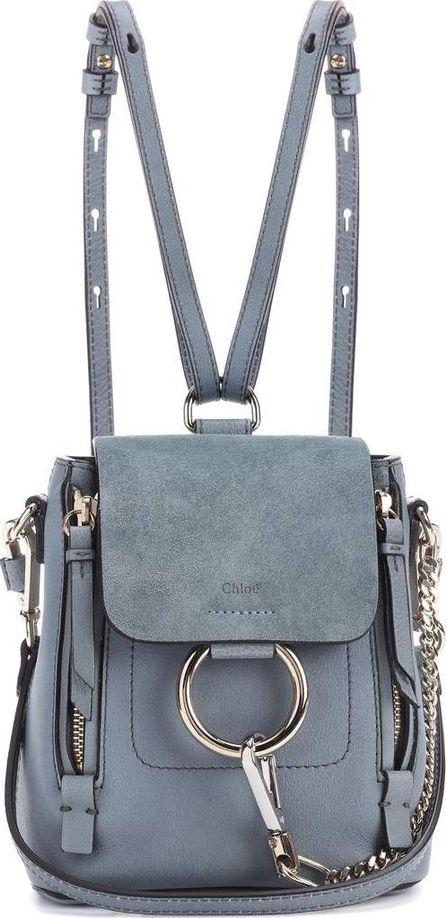 Chloe Faye Mini leather backpack