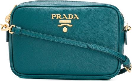 Prada Logo plaque crossbody bag