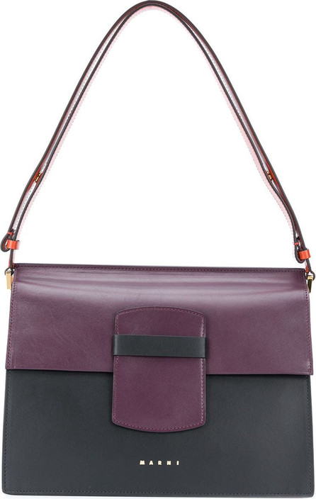 Marni Colour-block shoulder bag