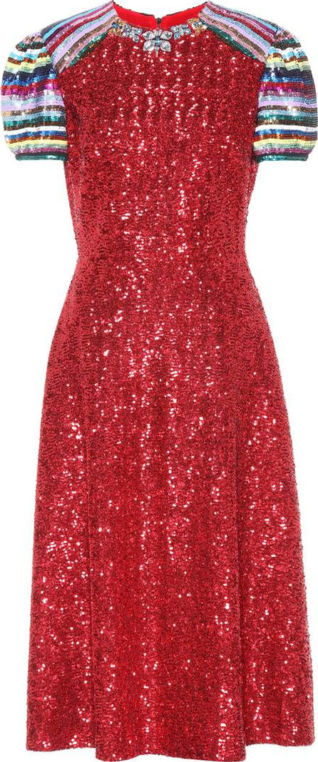 Mary Katrantzou Sequinned dress