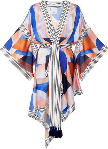Acler Verona Scarf Kimono Mini Dress