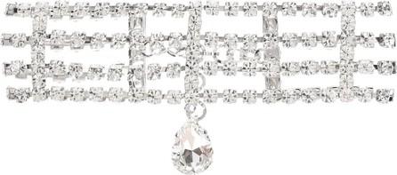 Alessandra Rich Crystal-embellished choker