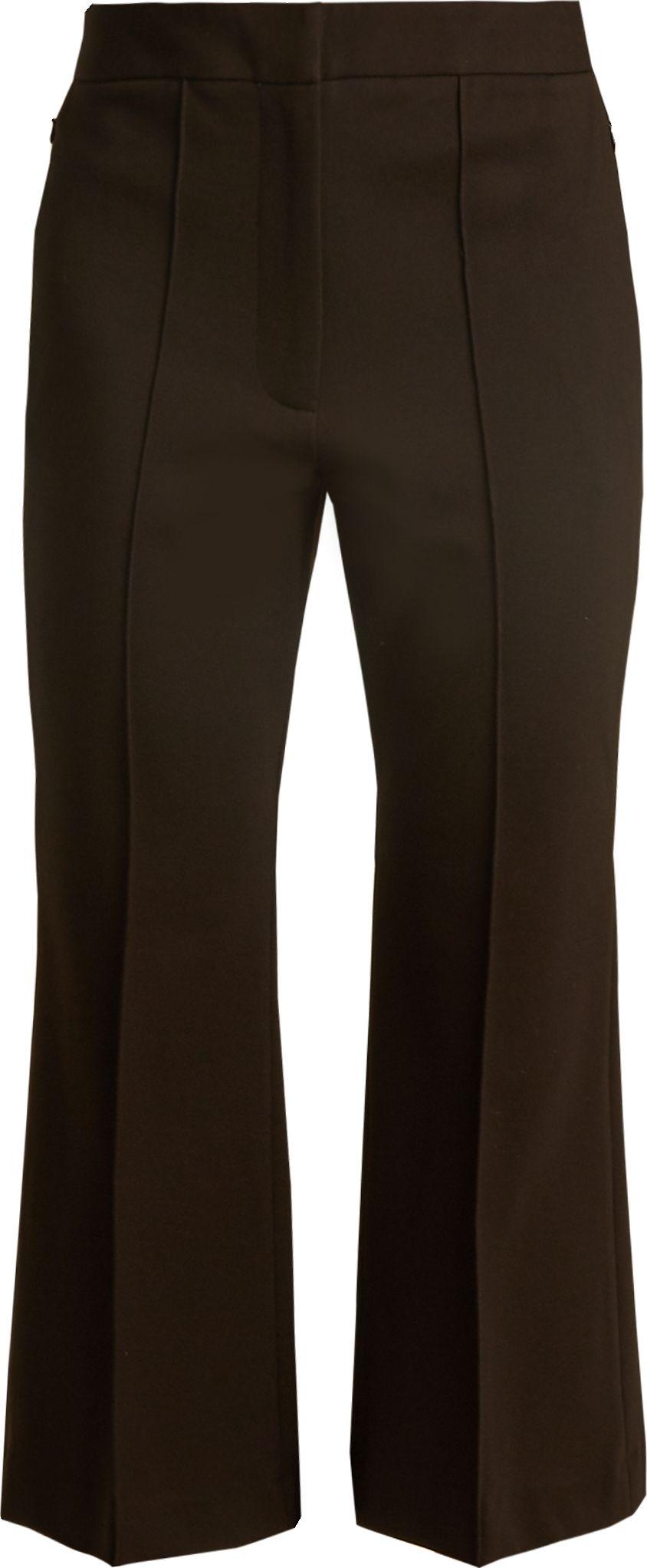 Tibi - Jane slim-leg cropped trousers