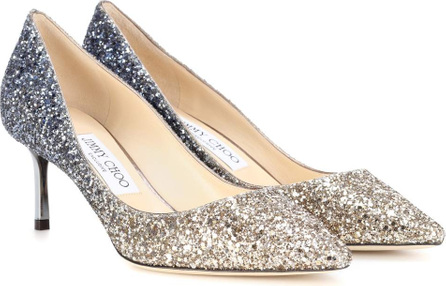 Jimmy Choo Exclusive to mytheresa – Romy 60 glitter pumps