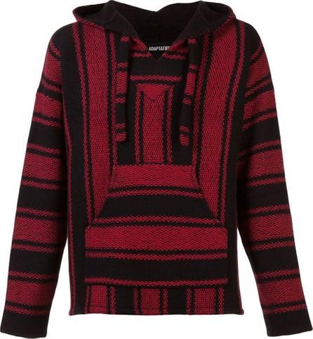 Adaptation baja striped hooded sweater