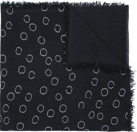Ann Demeulemeester Circle print scarf