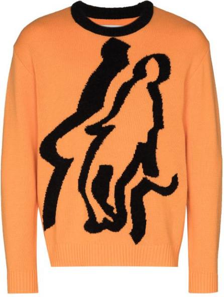 Liam Hodges Burns logo jumper